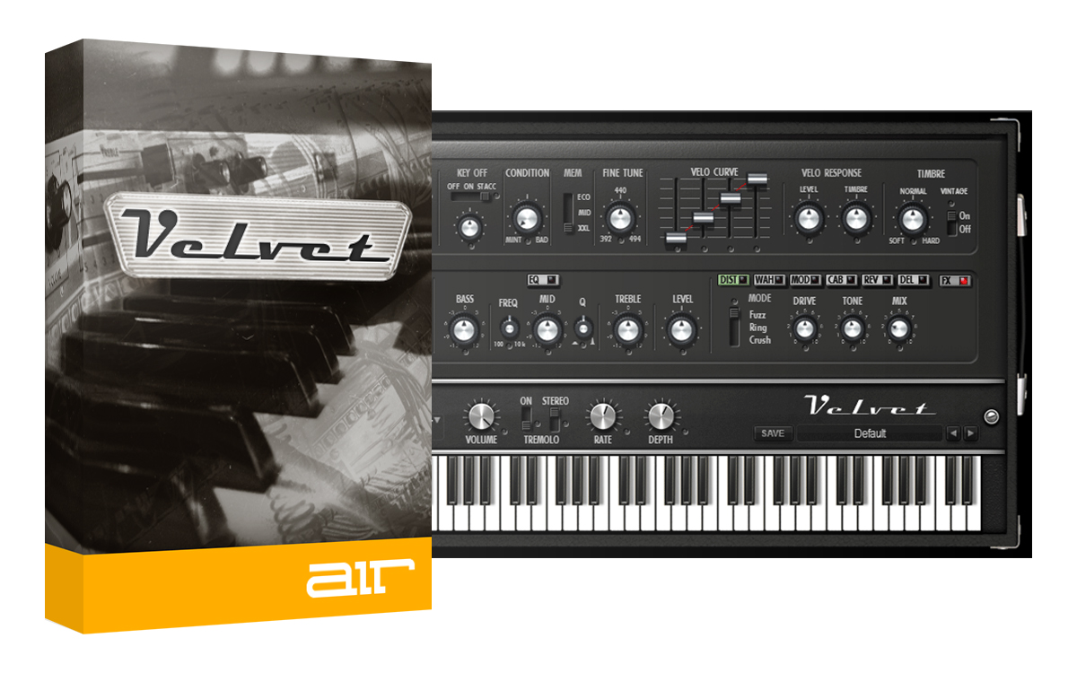 Velvet - Vintage Electric Piano Instrument [Download] by AIRMUSICTECH