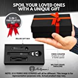 Premium Ferro Rod Fire Starter - Gift Box