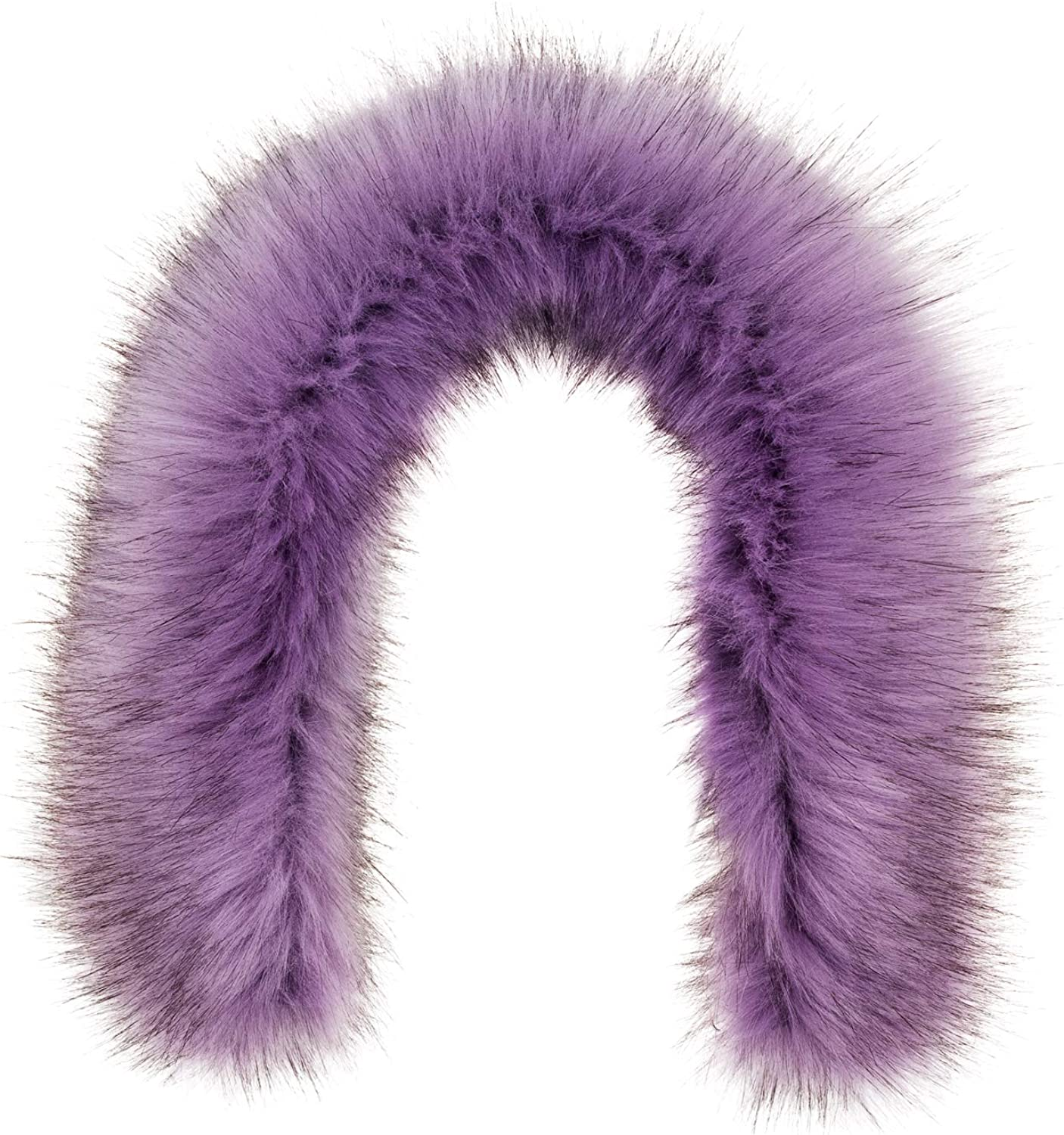 Futrzane Faux Fur Trim For Hood Replacement Buttons Included Like Real Fur