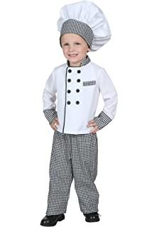 Amazon.com: Executive Boy Chef Costume - Size Toddler 4 ...