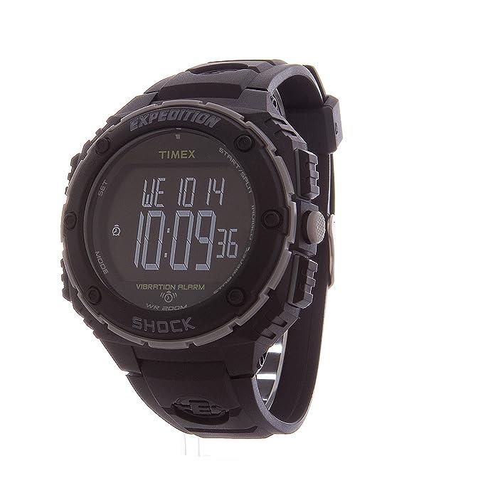 c09d998ddc9c Timex Expedition Shock XL - Reloj análogico de cuarzo con correa de resina para  hombre