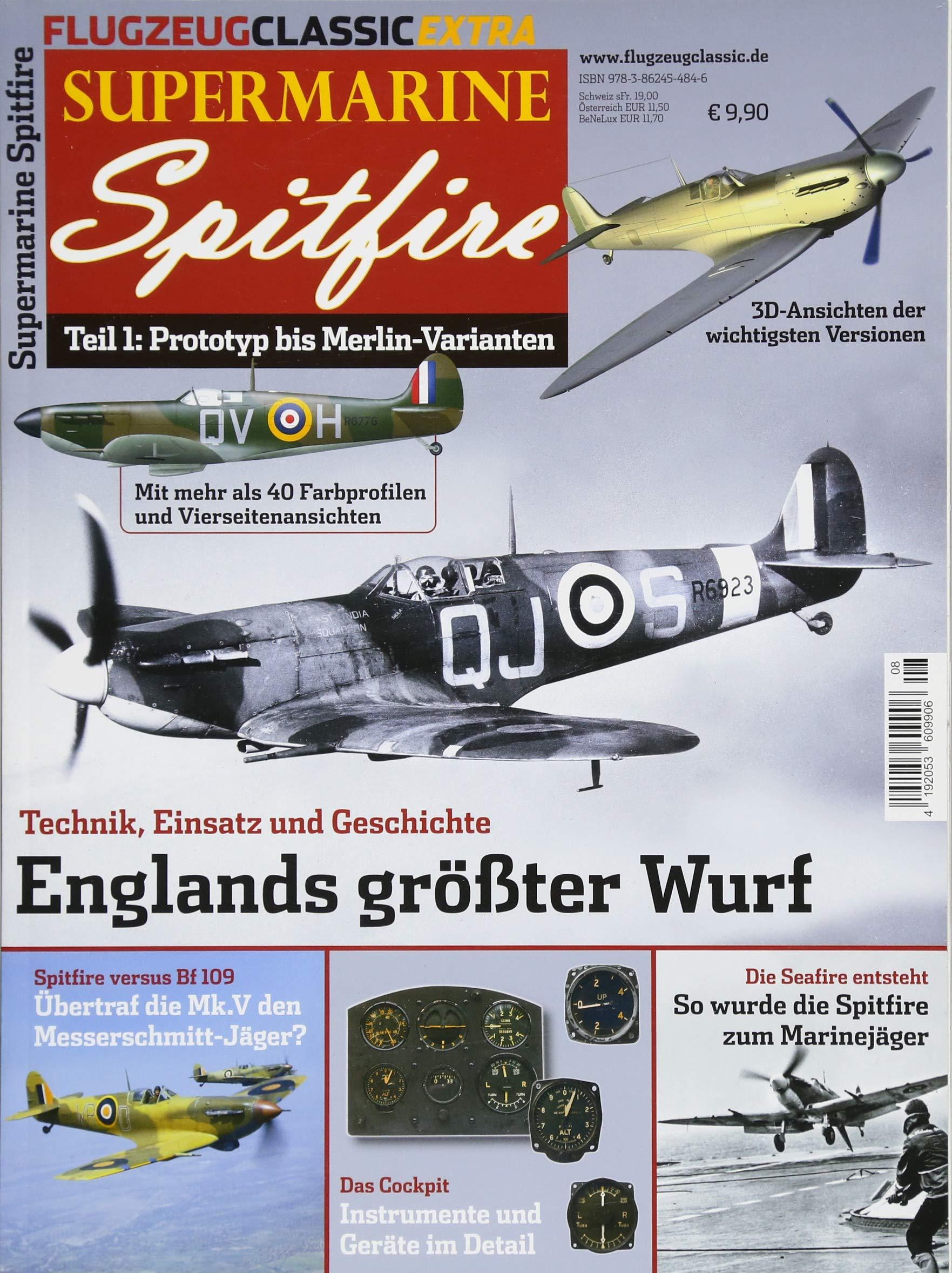 Supermarine Spitfire – Flugzeug Classic Extra 8