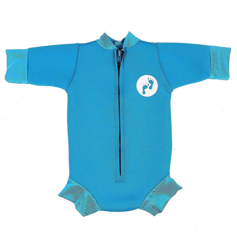Small,Raspberry Ultimate Newborn Baby Neoprene Wetsuit Swimsuit 0-12 Months