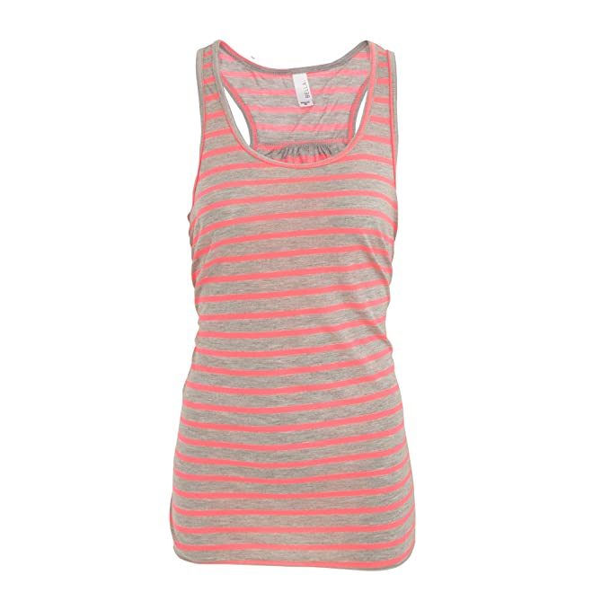 4d6d3b859cc9a3 Bella Ladies Womens Flowy Racerback Tank Top  Amazon.co.uk  Clothing