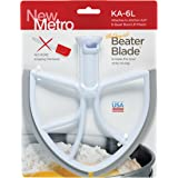 Original BeaterBlade for KitchenAid 6-Quart Bowl Lift Mixer, KA-6L, White, Made in USA