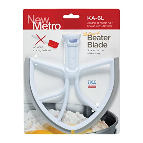 Surprising Original Beaterblade For Kitchenaid 6 Quart Bowl Lift Mixer Ka 6L White Made In Usa Beutiful Home Inspiration Cosmmahrainfo