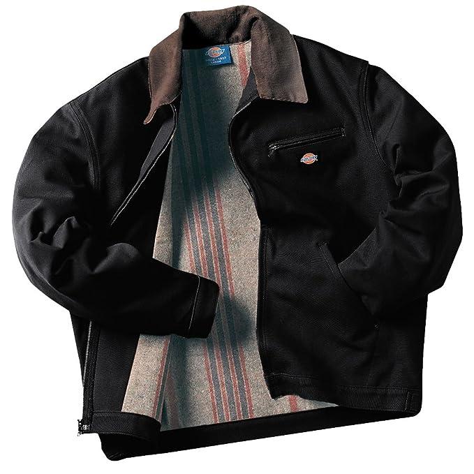 f03df569f Dickies Men's Rigid Duck Blanket Lined Jacket