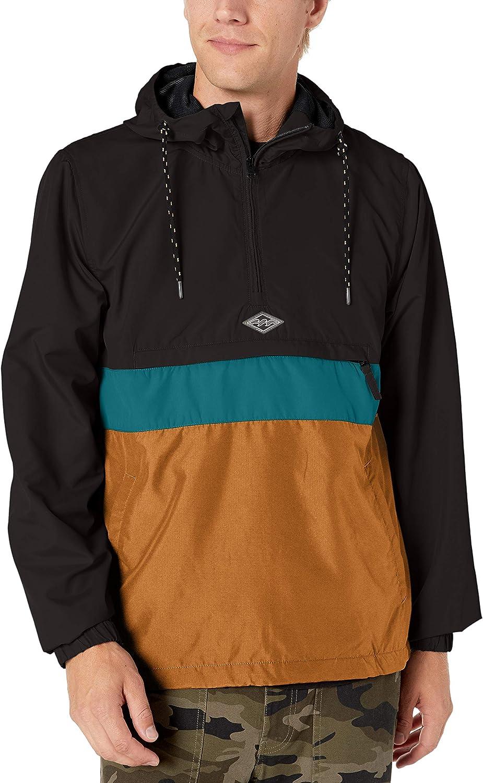 Billabong mens Wind Swell Anorak: Clothing