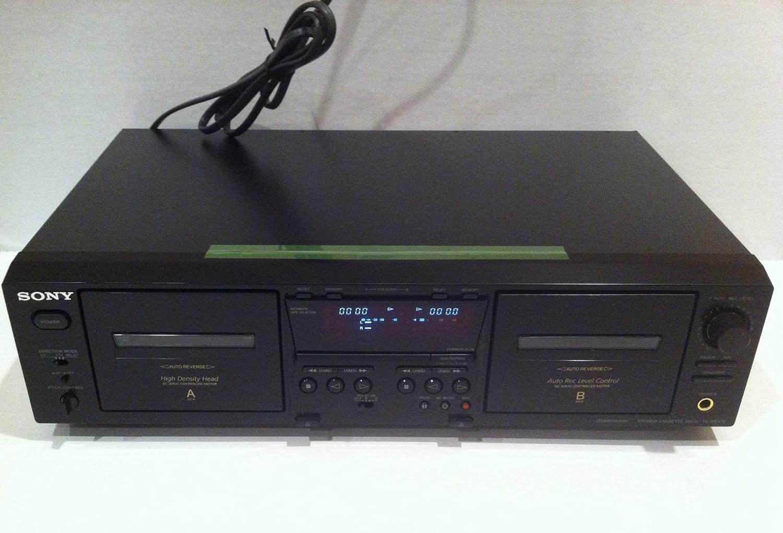 Amazon.com: Sony tcwe475 Dual reproductor/grabador de ...