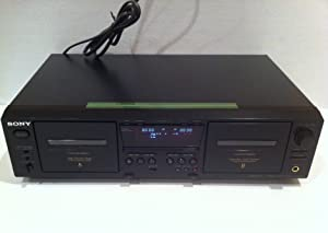 Sony TCWE475 Dual Cassette Player / Recorder (Discontinued by Manufacturer)