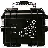 Invicta (3) Three Slot Impact Resistant Black Disney Mickey Dive Storage Collector Case/Watch Box