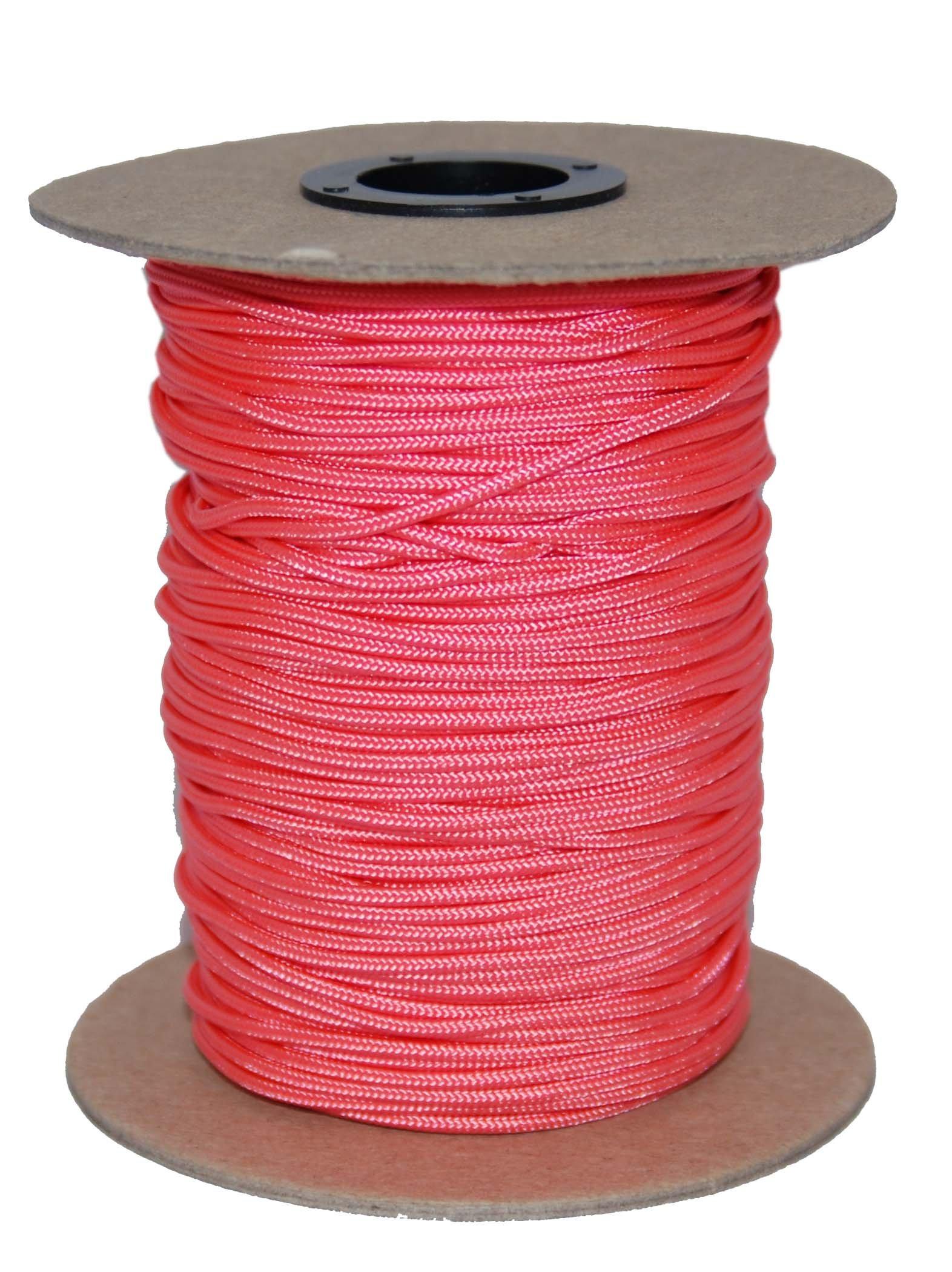 T.W Evans Cordage 70-101PK Crosslace Lacrosse String Spool, 300-Feet, Pink