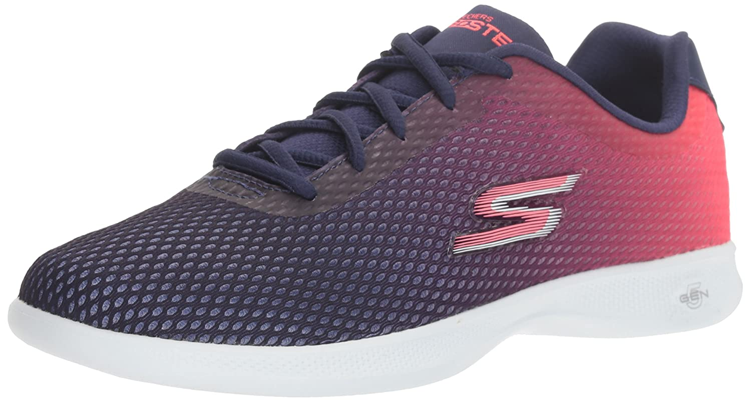 Skechers Damen Go Step Lite-Interstelllar Sneaker  35 EU|Blau (Navy/Pink)