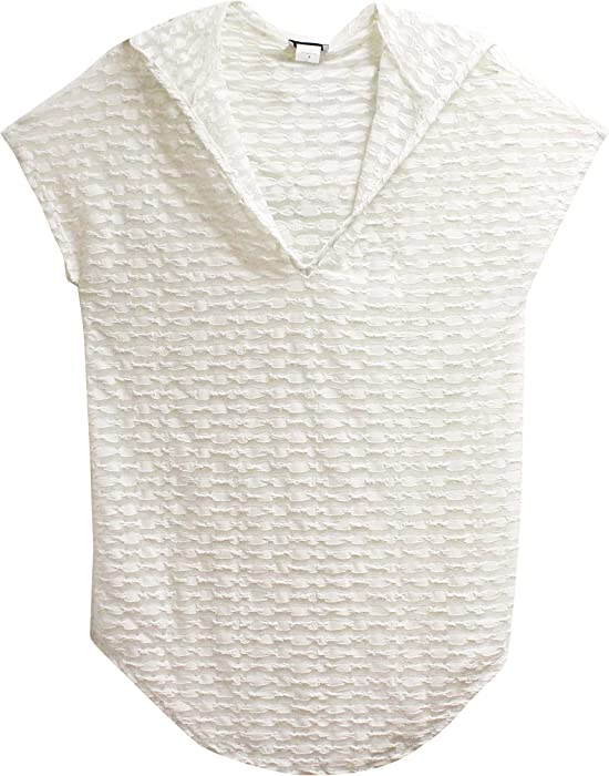 f95ccb0e655ff JORDAN TAYLOR Hoodie Swimsuit Cover-Up