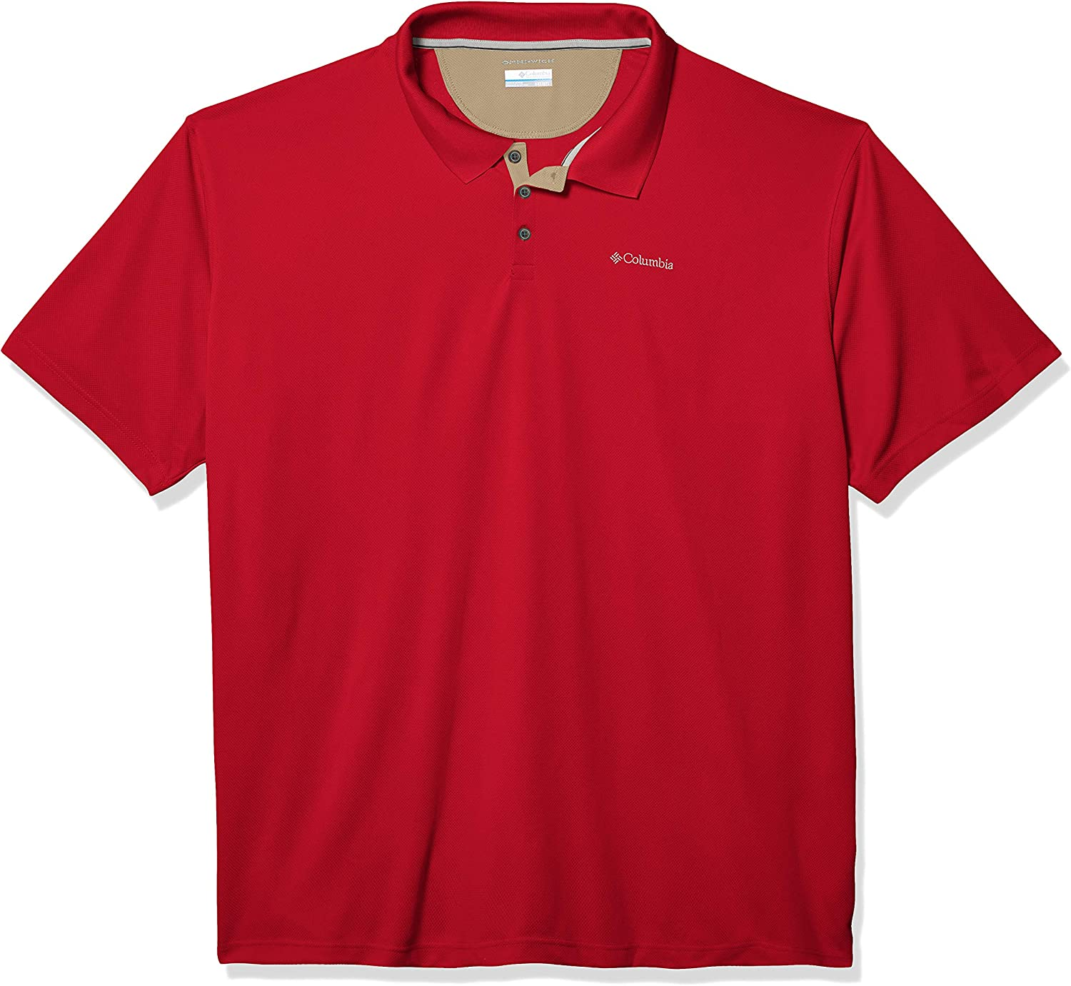 Columbia Mens Utilizer Short Sleeve Wicking and Sun Protection Shirt