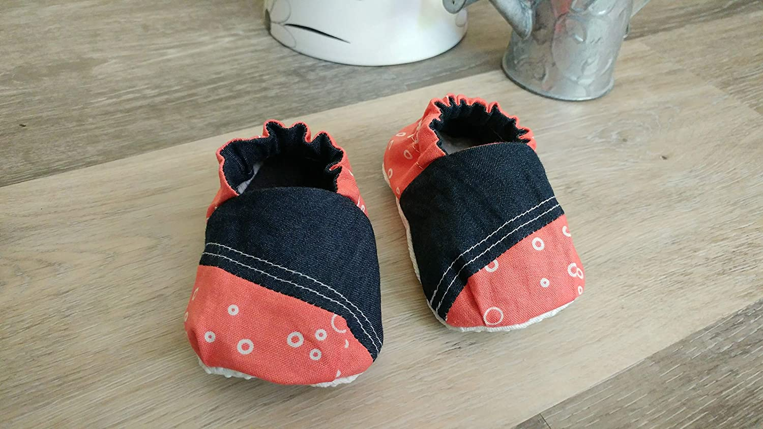 Reversible Slip On Baby Shoes