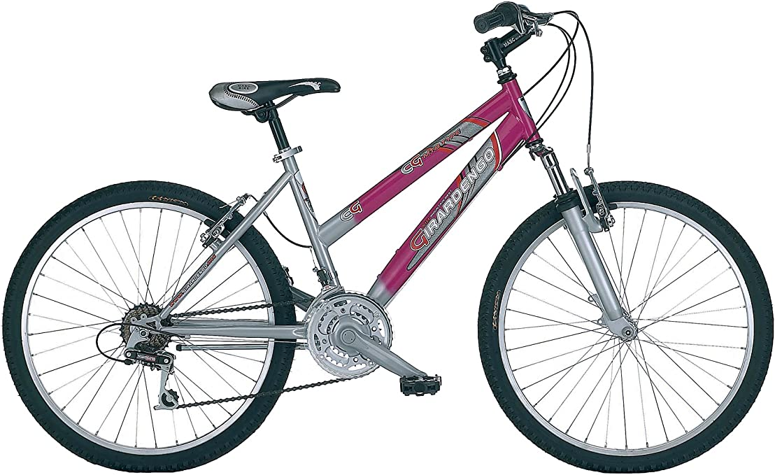 Girardengo Bicicleta MTB Rosa 24: Amazon.es: Deportes y aire libre