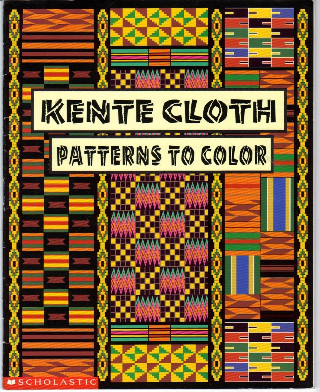 Kente Cloth Designs   Kente Cloth Patterns To Color Kwaku Ofori Ansa 9780590880275