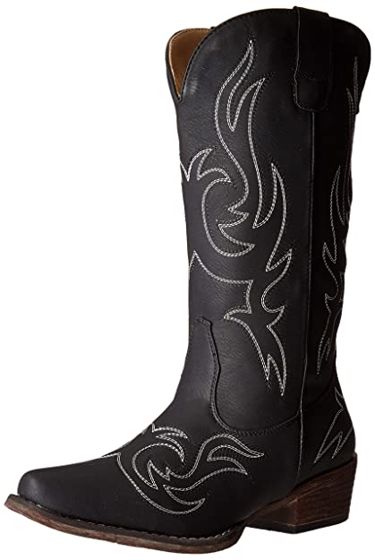 06ff0f3fd32 Womens Western Cowgirl Cowboy Boot, Reno Snip Square Toe by Silver Canyon