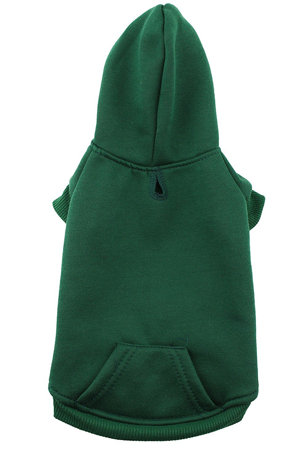 Hoodie Dog Sweatshirt by Midlee (X-Large, Green)