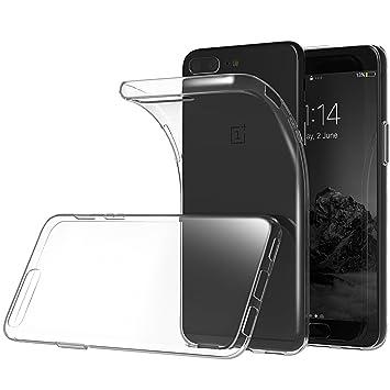 Oneplus 5 Hülle Lanseed Kristallklare Silikon Amazonde Elektronik