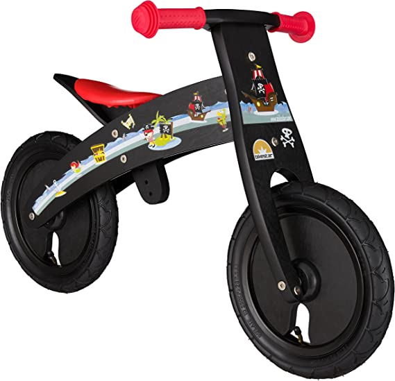 Bikestar - Bicicleta de Seguridad Original de Madera Ligera con ...