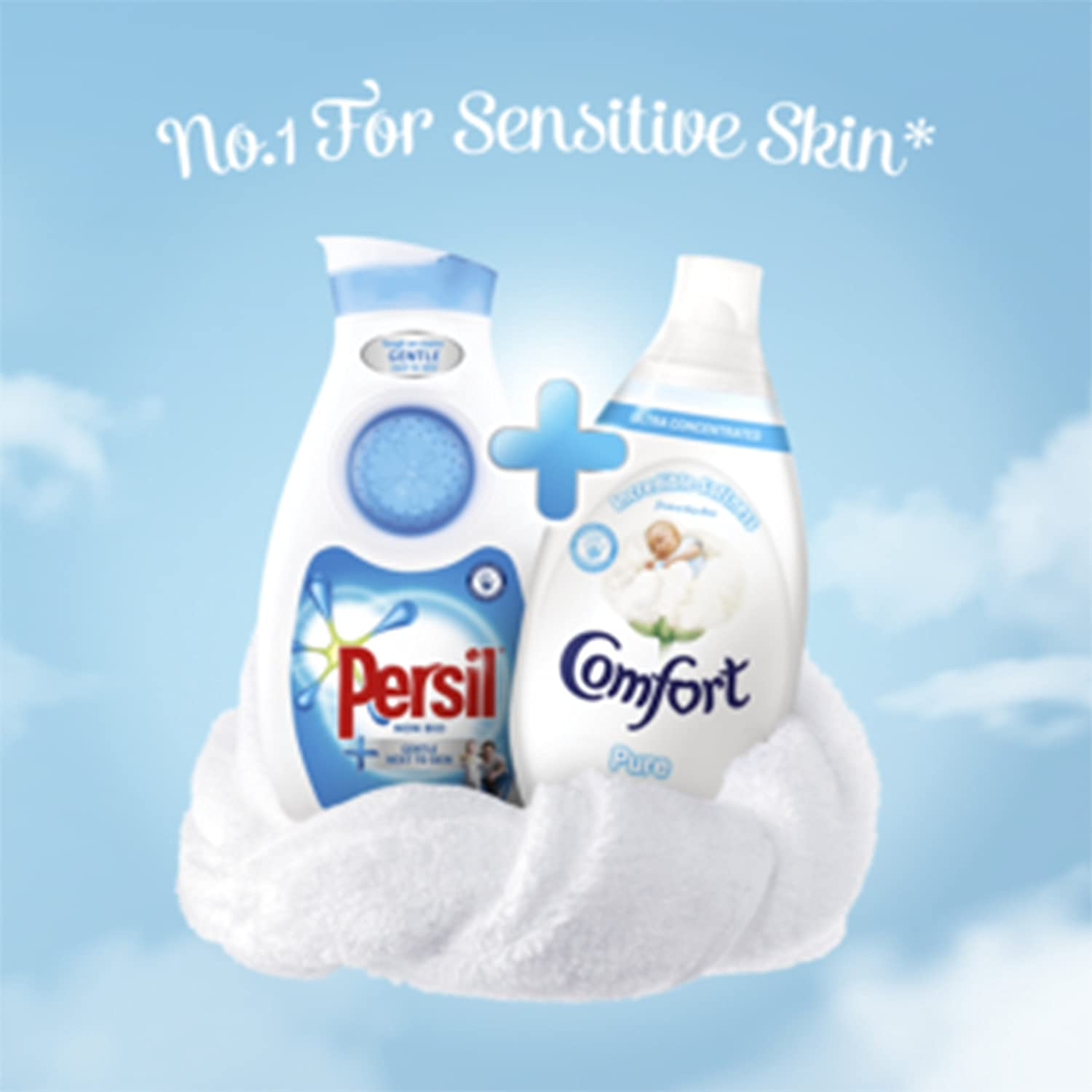 44cdd52a3 Persil and Comfort New Baby Essential Laundry Kit: Amazon.co.uk: Health &  Personal Care