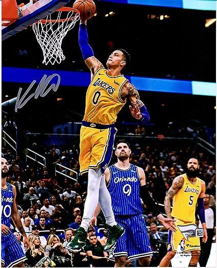 e6a26e1cc95 Kyle Kuzma Los Angeles Lakers Autographed 8