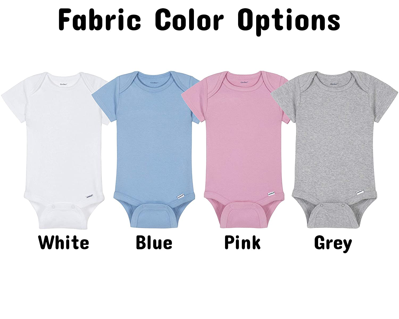 7 Colours Bodysuit Nerdy Babgrow ISAAC Periodic Element