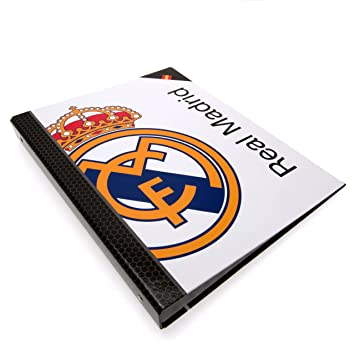 Safta 511324067 - Real Madrid Carpeta folio 4 anillas: Amazon.es: Juguetes y juegos