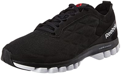 afbf0216c49 Reebok Men s Sublite Super Duo 3.0 Black and White Running Shoes - 11  UK India