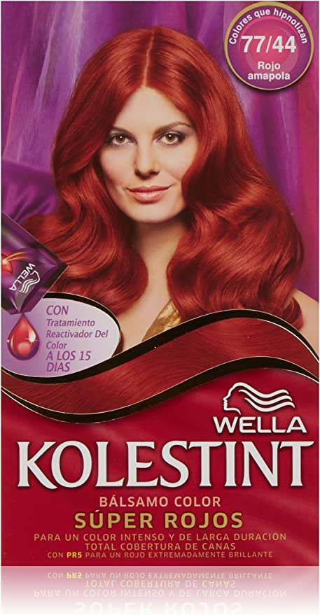 Kolesint Bálsamo color Rojo amapola 77/44 - [paquete de 3]