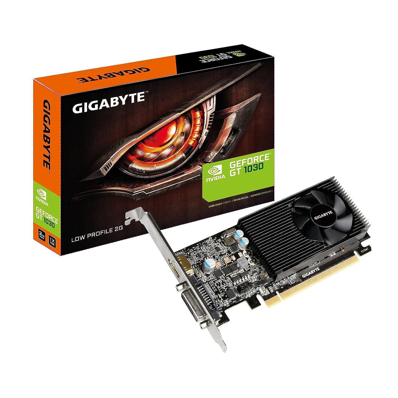 Gigabyte NVIDIA GeForce GT 1030 Low Profile 2G GDDR5 64 Bit Memory PCI  Express Graphics Card - Black: Amazon.co.uk: Computers & Accessories