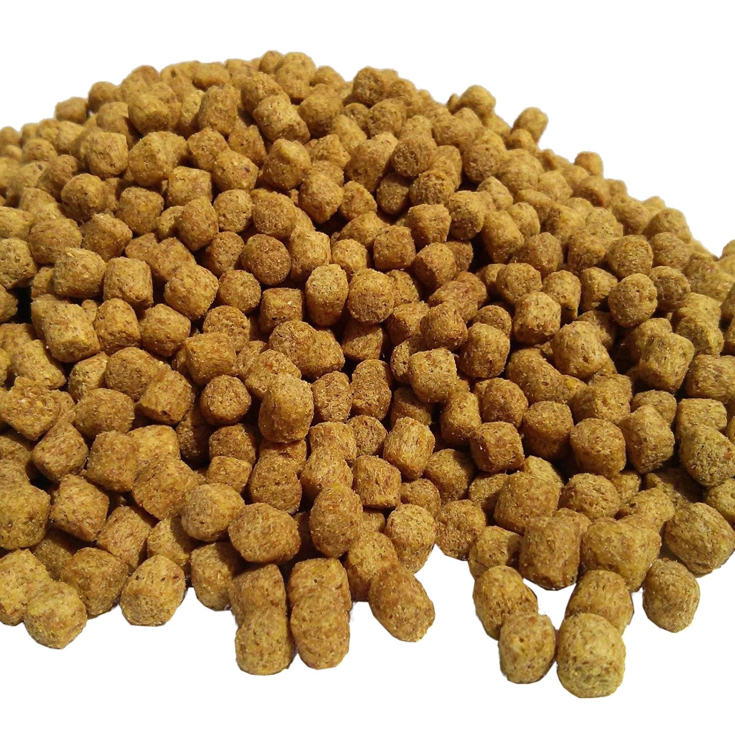 Pellets, AF 7/32''-1/4'' Floating Koi & Pond Fish Food. with Samples of Freeze Dried Krill & Silk Worms Included.51-lbs by Aquatic Foods Inc.