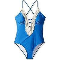 4162b11b4f270 CUPSHE Women s Ladies Vintage Lace Bikini Sets Beach Swimwear Bathing Suit  Green