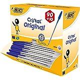 BIC 896289 Cristal Confezione 90 + 10 penne a sfera