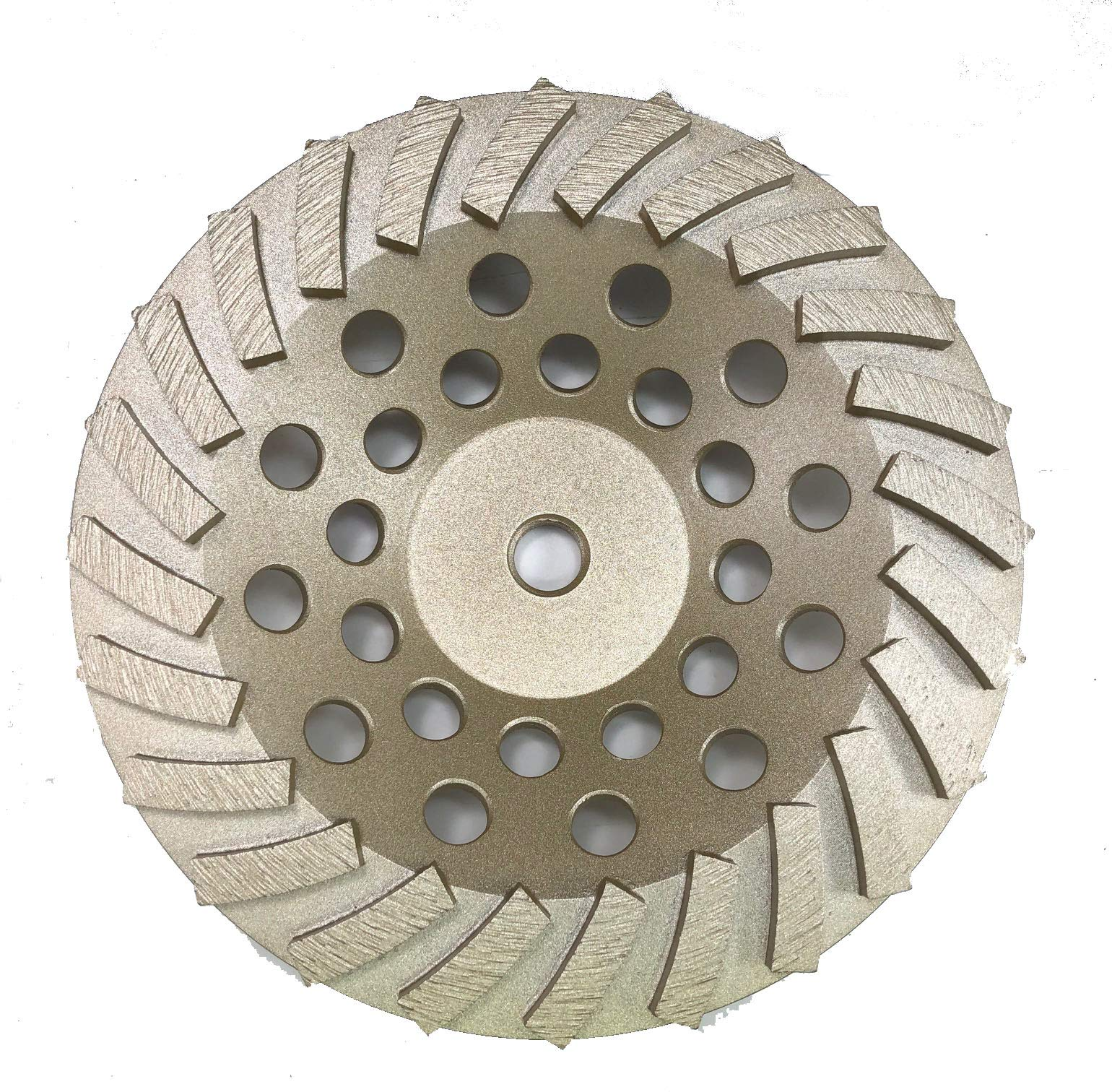 Diamond Cup Wheels Turbo Fast Grinding Threaded for Concrete (7'', 24 Seg).