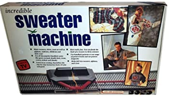 Bond Incredible Sweater Machine