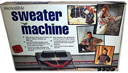 Amazon Com Bond Incredible Sweater Machine Knitting Machine