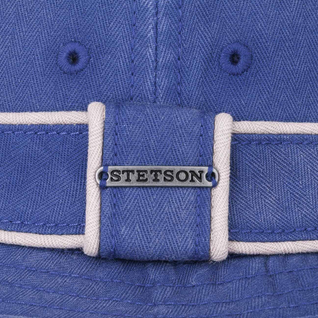 Stetson Norwood Diamond Pork Pie Hat Men Cloth Cotton Summer Summer-Winter