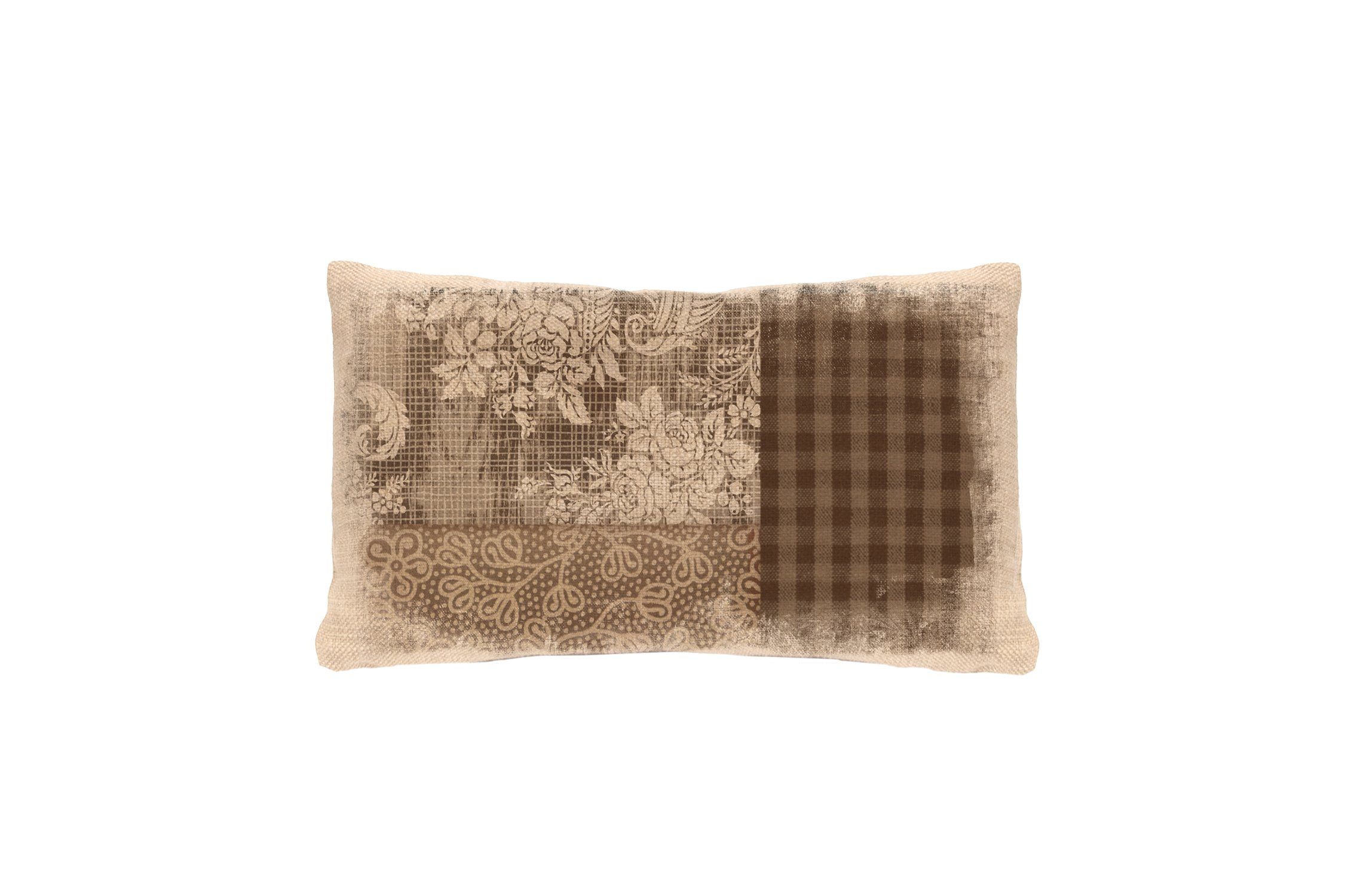 Heritage Lace Alpine Woods Textural Pillow Cover, 12 by 20-Inch, Natural