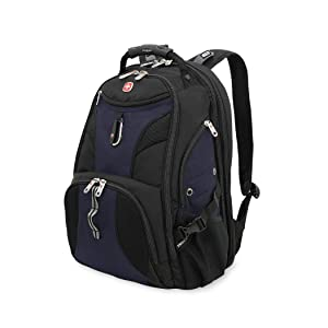 "SwissGear Travel Gear 1900 Scansmart TSA Friendly Laptop Backpack 19"" Blue"