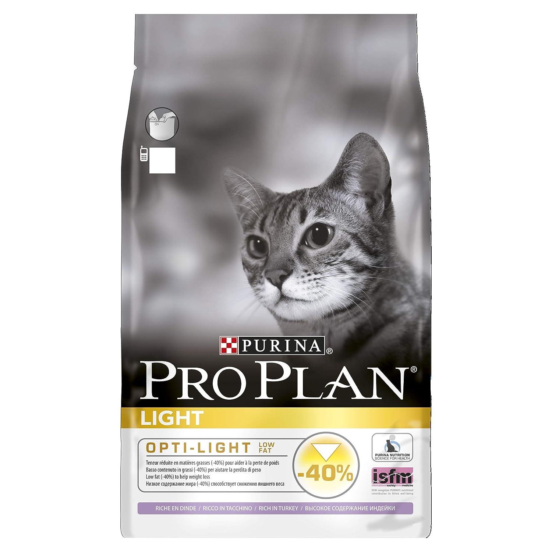 PRO PLAN Light - Riche en Dinde - 3 KG - Croquettes pour chat adulte 894
