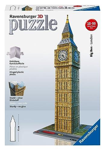 Ravensburger 12554 Big Ben 3D Jigsaw Puzzle - 216 Pieces