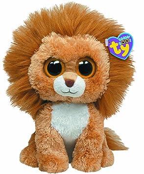 Ty 7136920 - León de peluche King Buddy (21,5 cm) [importado