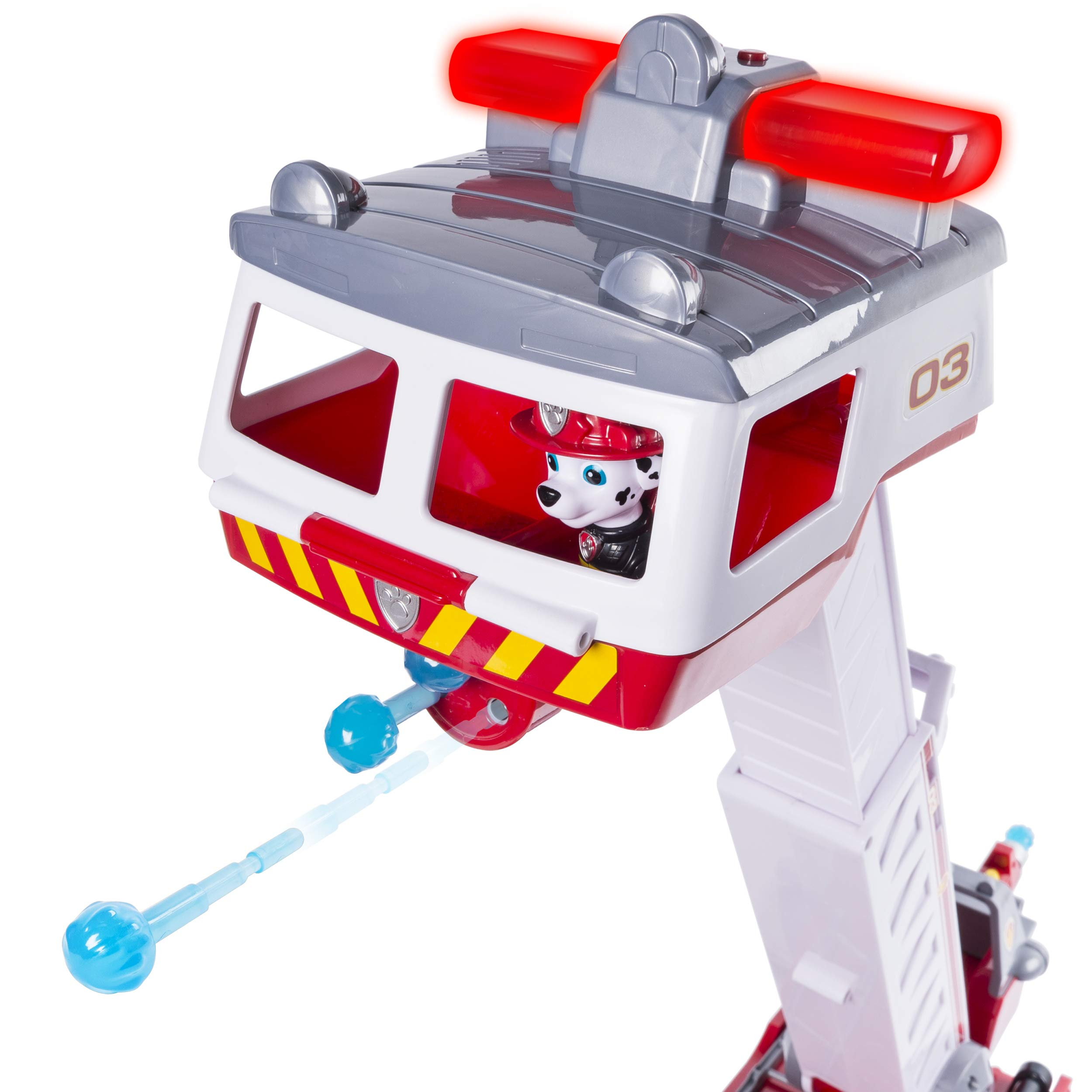 PAW Patrol - Ultimate Rescue Fire Truck with Extendable 2 ft. Tall Ladder, for Ages 3 and Up by Paw Patrol (Image #10)