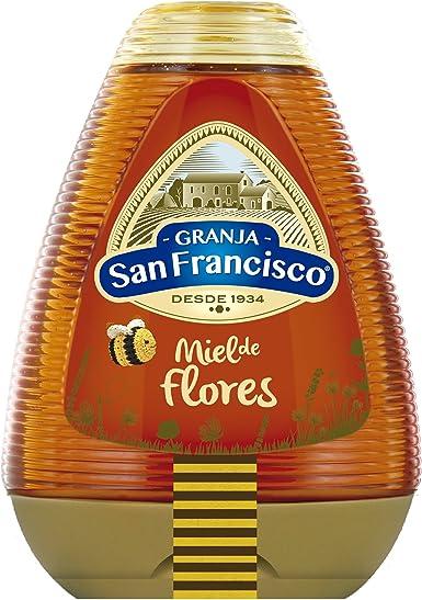 Granja San Francisco - Miel de Milflores - 0% Goteo - 425 g - [pack de 5]: Amazon.es: Alimentación y bebidas