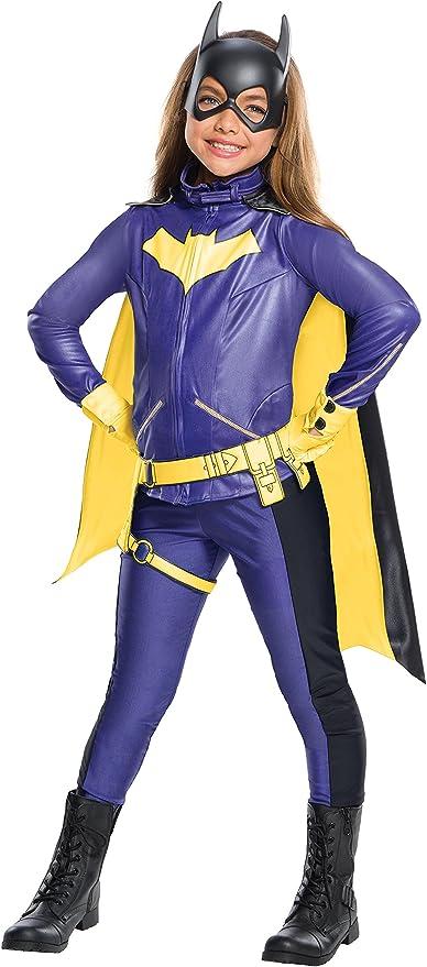 Rubies Classic Batman Deluxe Girl/'s Kids Bat girl Costume,Small