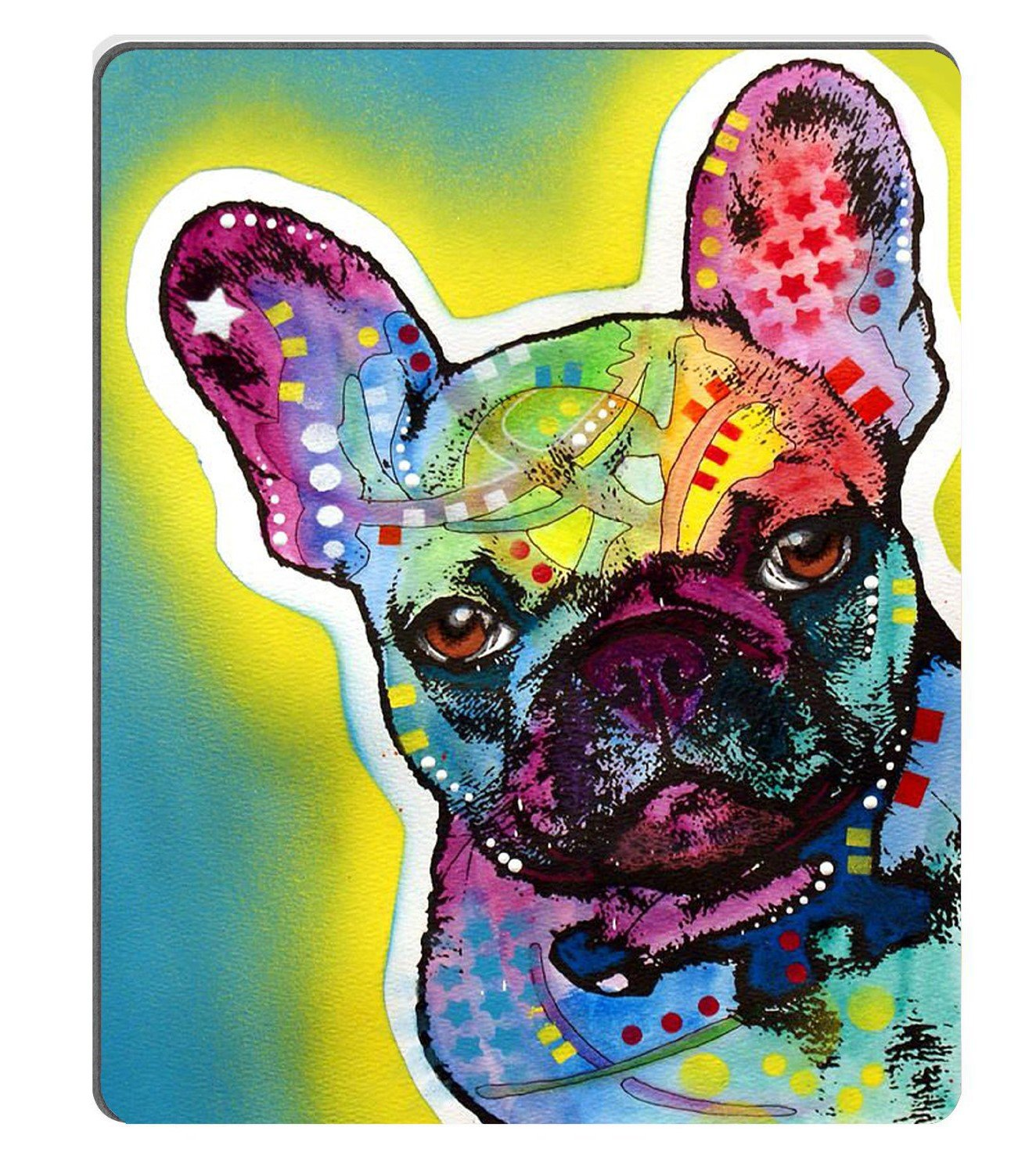 Amazon Com Wknoon French Bull Dog Custom Mouse Pad