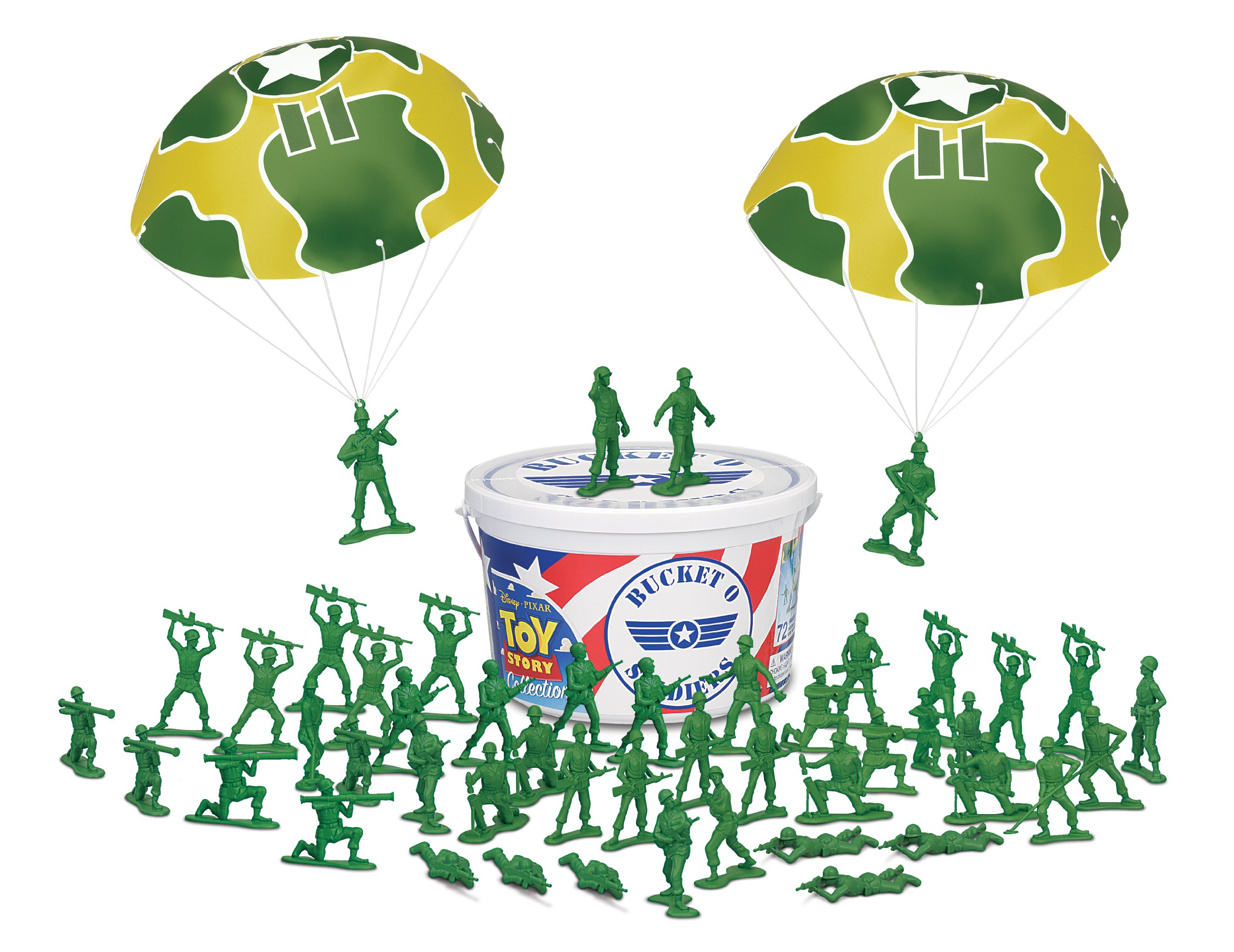 Toy Story Bucket O Soldiers 4